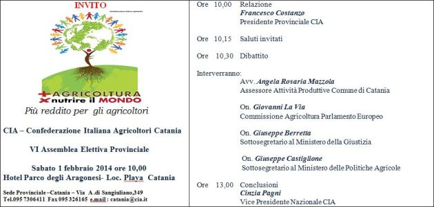 assemblea catania
